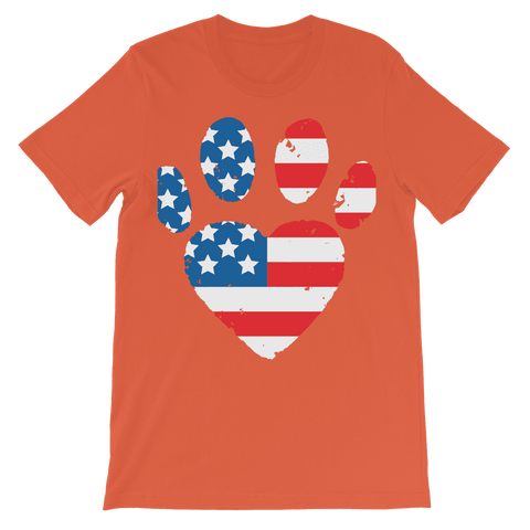 USA Paw Kids T-Shirt Classic