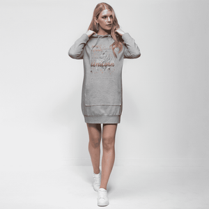 Time to be a Unicorn Premium Adult Hoodie Dress