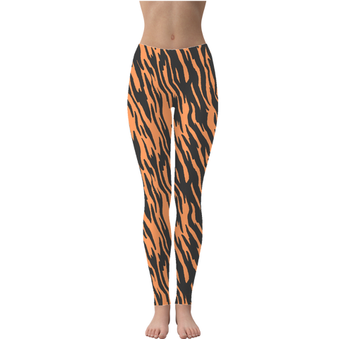 Wild Tiger Stripes Leggings