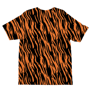 Wild Tiger Stripes Kids T-Shirt