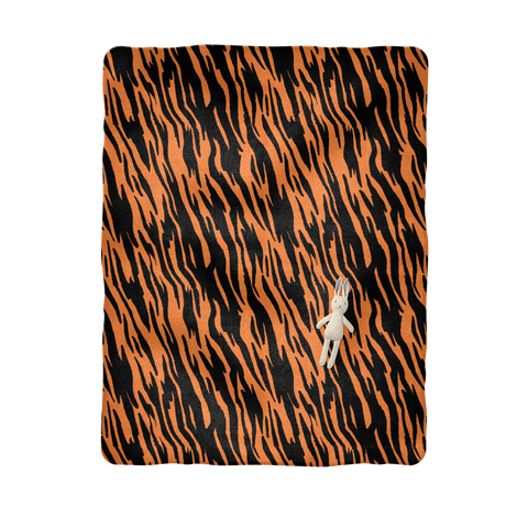 Wild Tiger Stripes Baby Blanket