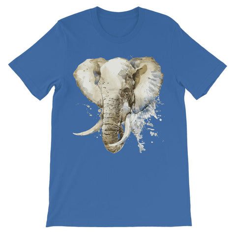 Image of African Elephant Painting Kids T-Shirt Classic