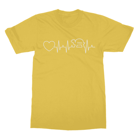 Turtle Heartbeat T-Shirt Classic