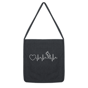 Parrot Heartbeat Tote Bag