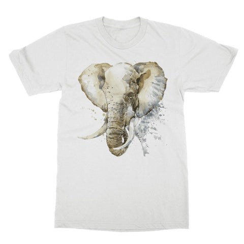 Image of African Elephant Painting T-Shirt Classic