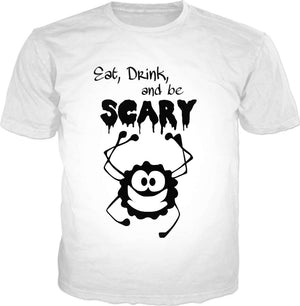 Scary Spider T-Shirt - Green Earth Animals