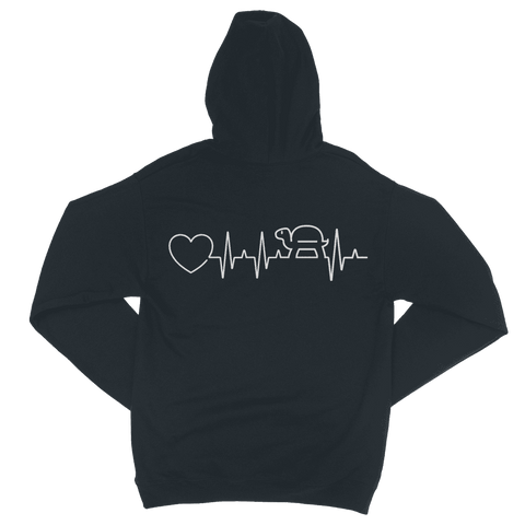 Image of Turtle Heartbeat Zip Hoodie Classic