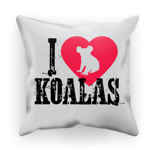 I Love Koalas Cushion Cover