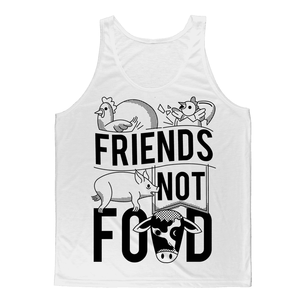 Friends Not Food Animals Tank Top Classic Sublimation