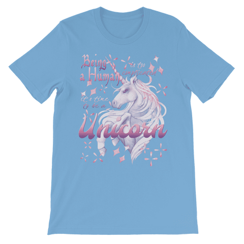 Time to be a Unicorn Kids T-Shirt Premium