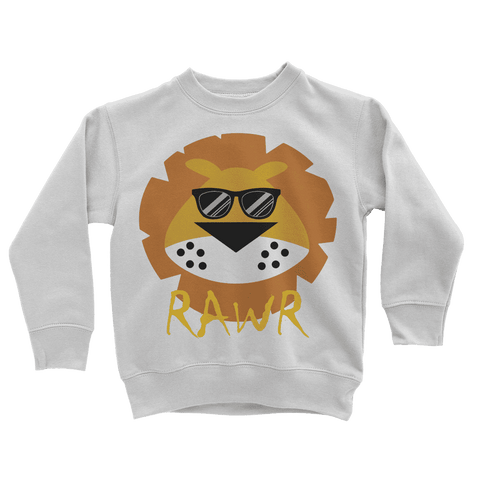 Lion RAWR Kids Sweatshirt