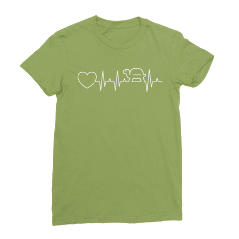 Image of Turtle Heartbeat Women's T-Shirt Classic