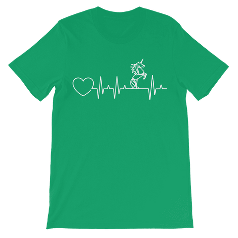 Unicorn Heartbeat Kids T-Shirt Premium