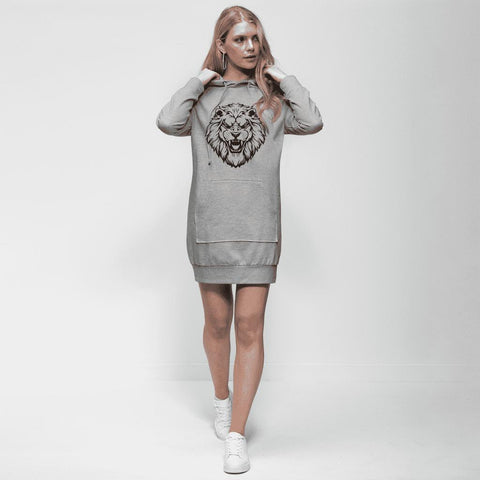 Roaring Lion Premium Adult Hoodie Dress