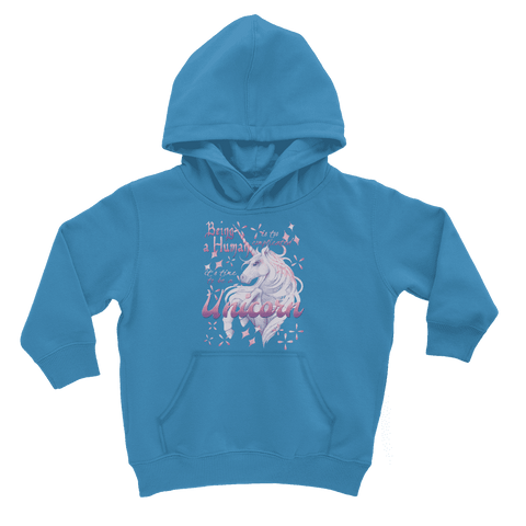 Time to be a Unicorn Kids Hoodie