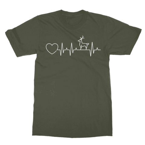 Image of Deer Heartbeat T-Shirt Classic