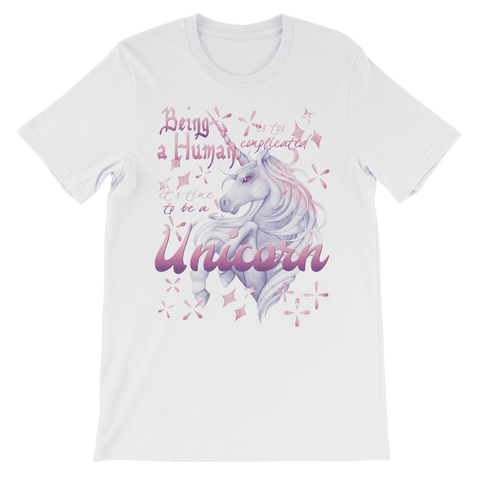 Time to be a Unicorn Kids T-Shirt Classic