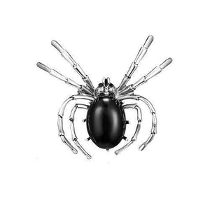 Black Spider Insect Enamel Jewelry