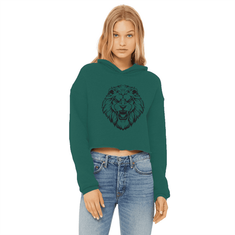 Image of Roaring Lion Women's Cropped Hoodie