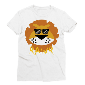 Lion RAWR Women's T-Shirt Classic Sublimation