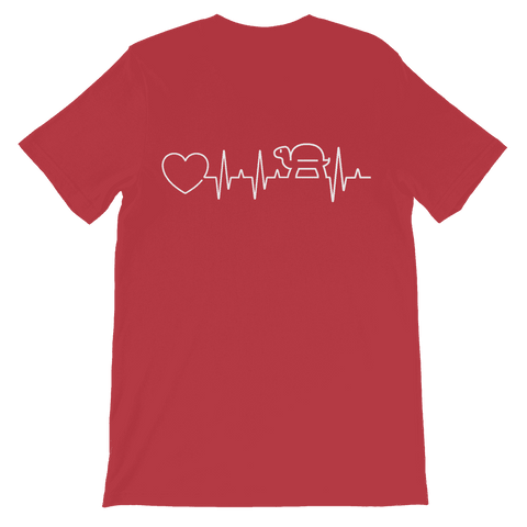 Image of Turtle Heartbeat Kids T-Shirt Classic