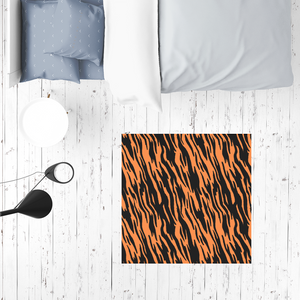 Wild Tiger Stripes Rug