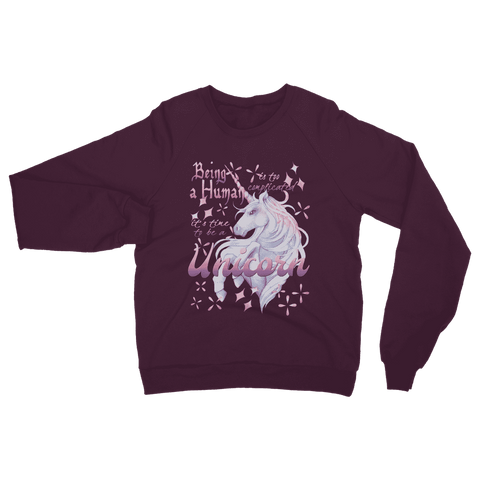 Image of Time to be a Unicorn Sweatshirt