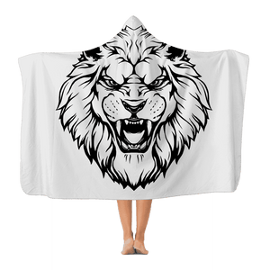 Roaring Lion Hooded Blanket Classic