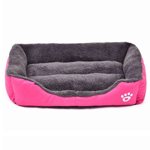 Image of Solid Color Soft Cotton Dog Bed - Green Earth Animals