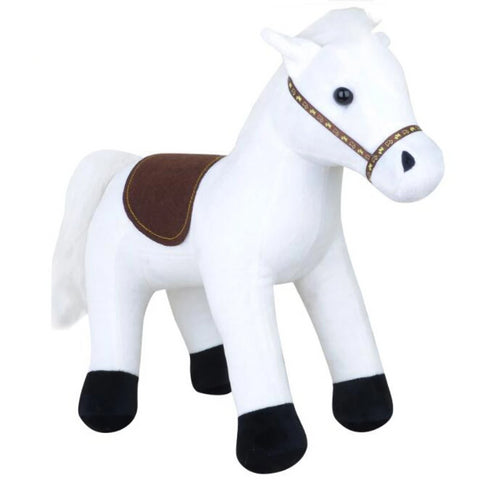 White Horse Plush Stuffed Toy for Kids
