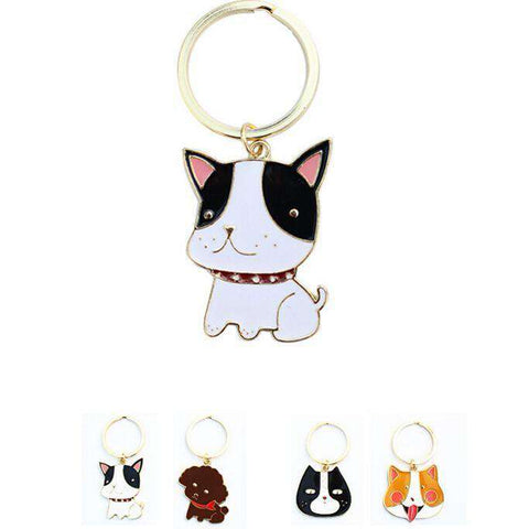 Image of Dogs Pet Keychains - Green Earth Animals