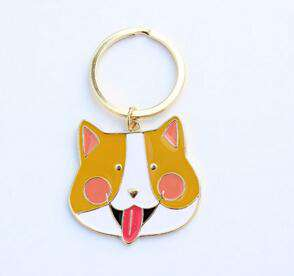Dogs Pet Keychains - Green Earth Animals