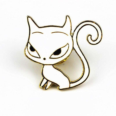Black/White Cat Pins - Green Earth Animals