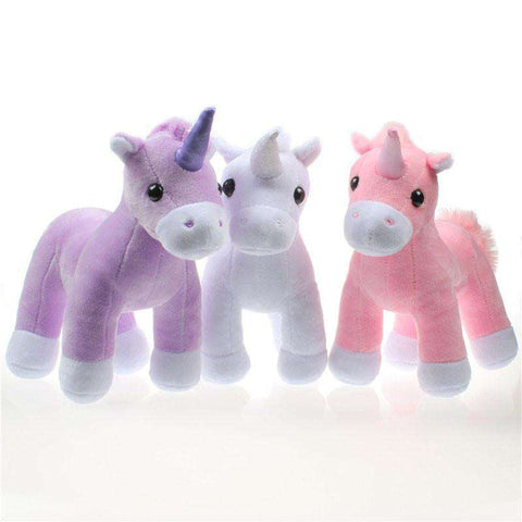 Cute Plush Unicorn - Green Earth Animals