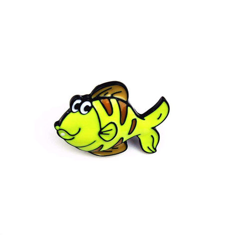 Tropical Fish Pins - Green Earth Animals