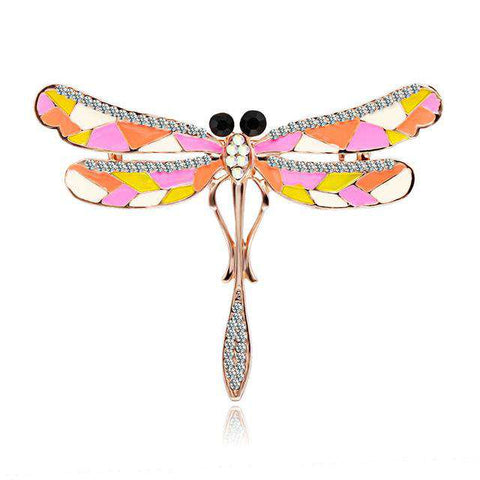 Colorful Dragonfly Pin - Green Earth Animals