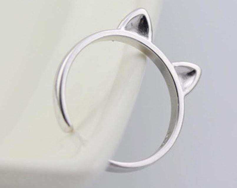 Cat Ears Ring - Green Earth Animals