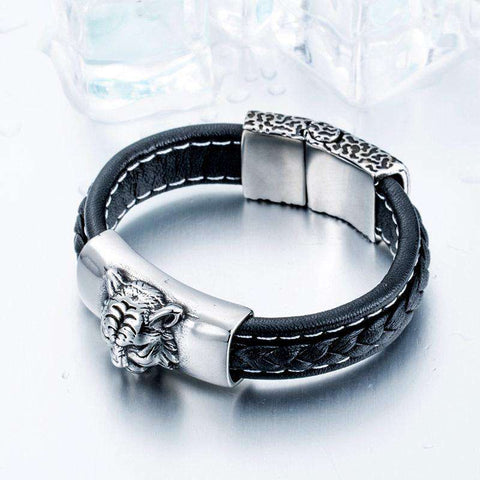 Image of Tiger Lover's Bracelet - Green Earth Animals