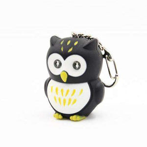 LED Owl Keychains with sound