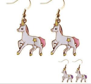 Unicorn Star Earrings