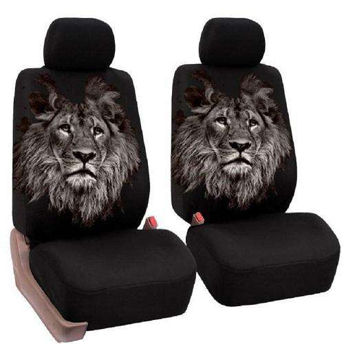 African Lion Car Seat Covers - Green Earth Animals