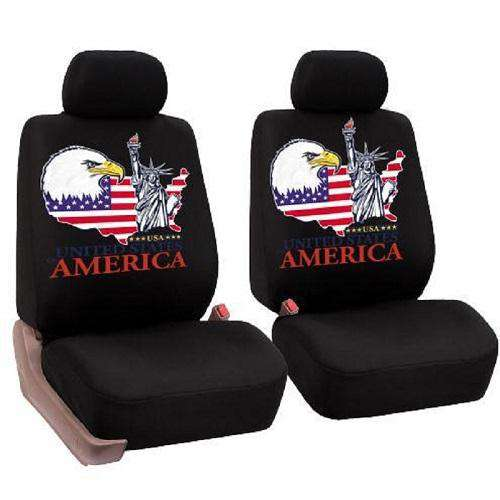 American Eagle Car Seat Covers - Green Earth Animals