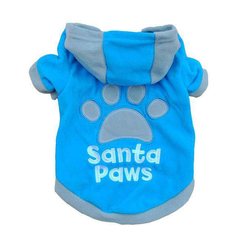 Image of Santa Paws Dog Coat - Green Earth Animals