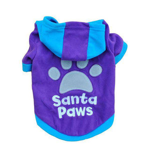 Santa Paws Dog Coat