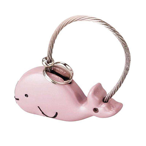 Metal Whale Keychains - Green Earth Animals