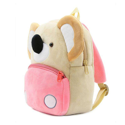 Cute Kid's Plush Koala Backpack