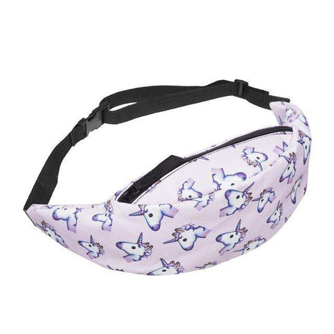 Unicorn Waist Pack - Green Earth Animals