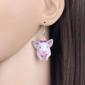 Cute Piglet Earrings