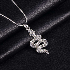 Snake Lovers Crystal Necklace