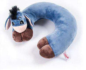 Soft Donkey Travel Neck Pillow - Green Earth Animals